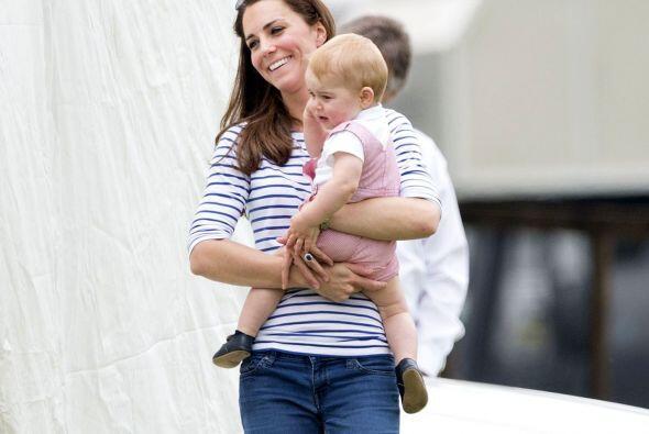 Aunque son contadas las veces que se dejan ver en público Kate Middleton...