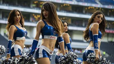 En fotos: Las porristas y fanáticas de Monterrey son las ganadoras en la jornada 3