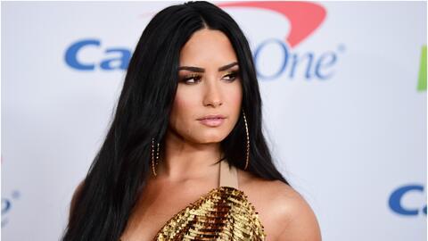 La cantante estadounidense, Demi Lovato.