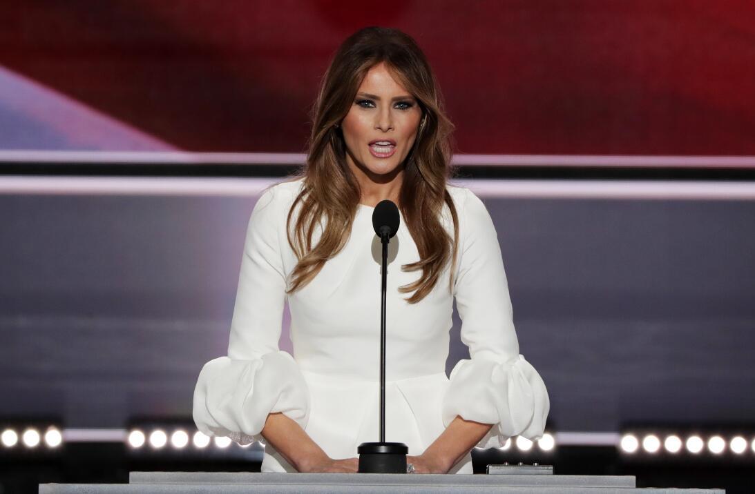 Melania Trump, una primera dama inesperada GettyImages-577294844.jpg