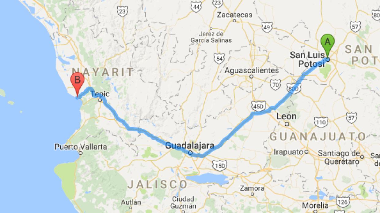 Mapa, de Rubí a Layín, un paso es