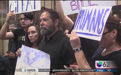San Marcos se une a la oposición contra la ley SB4
