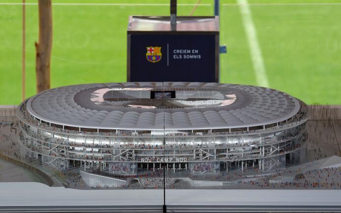 Conoce el diseño del nuevo estadio del FC Barcelona partir del 2022.