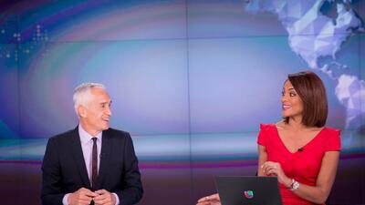 Los nuevos presentadores del noticiero nacional.