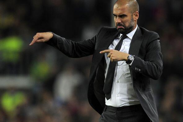 Guardiola optó por el 'meneaito'.