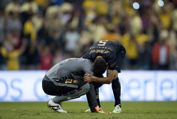 Pumas intentó reaccionar en los minutos finales pero no logró inquietar...