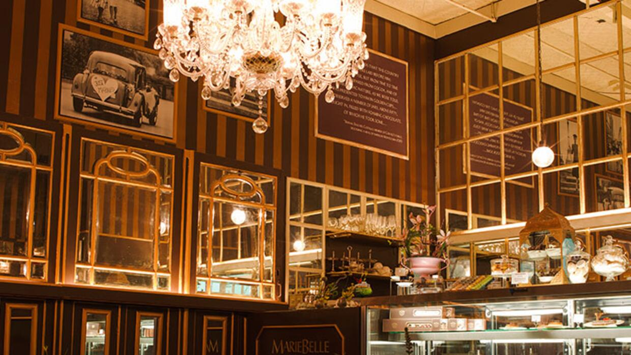 Maribelle New York un escaparate para creaciones chocolateras.