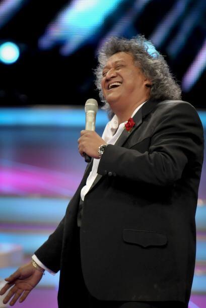 El comediante no pudo evitar reírse de las ocurrencias que el pequeño ti...