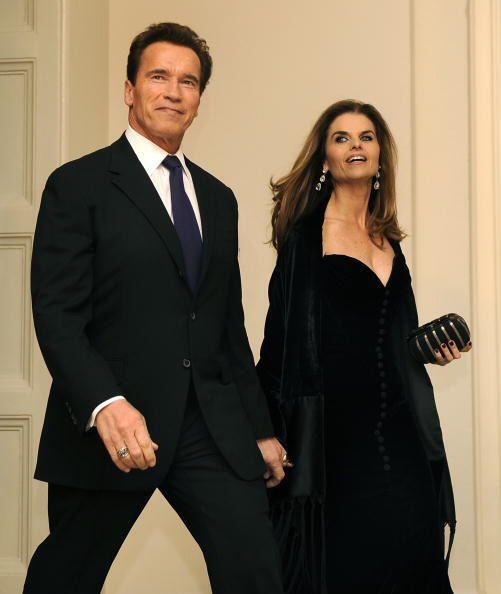 Arnold Schwarzenegger y María Schriver