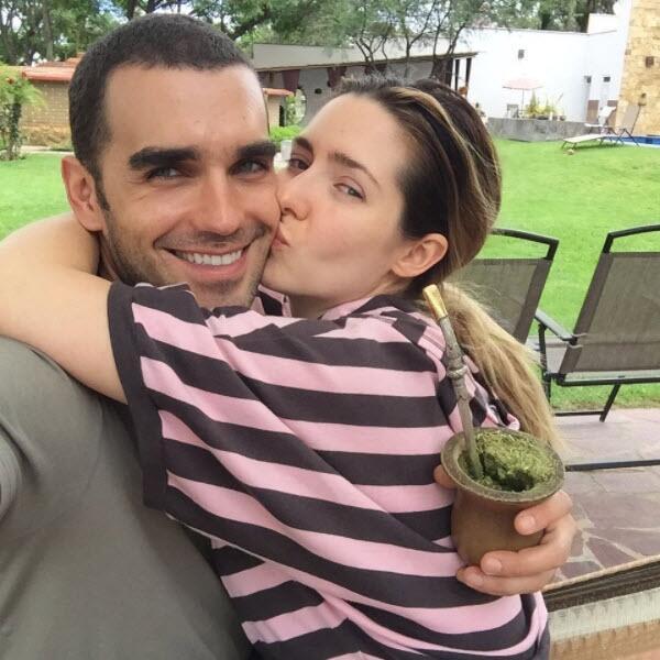 Ariadne Díaz y Marcus D'Ornellas.