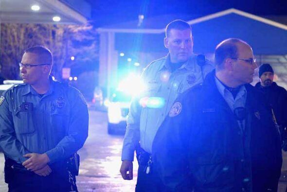 Jon Belmar, jefe de la policía del condado St. Louis, no proporcionó más...