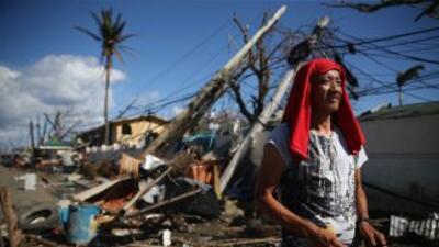 A una semana de que el tifón Haiyan devastara Filipinas, el gobierno cif...