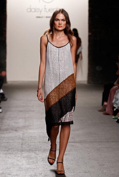 Estas prendas corresponden a la nueva colección de Daisy Fuentes.
