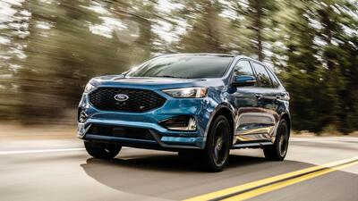 Para 2019 la Ford Edge recibe cambios cosméticos, mejoras tecnológicas y una versión de alta performance