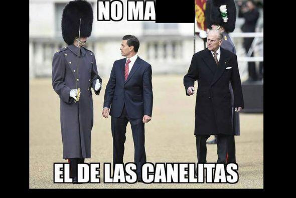 La visita del Presidente de México y su querida Primera Dama a In...