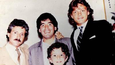 Maradona fue a comer con Luis Miguel y lo dejó embarrado con la cuenta