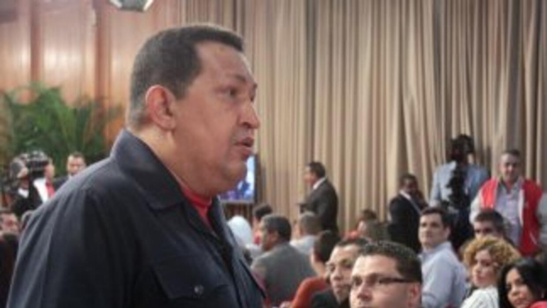El presidente de Venezuela reconoció el discurso desu homóloga argentina.