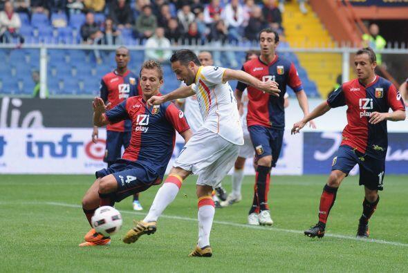 Por otra parte, Genoa goleó al Lecce 4 a 2.