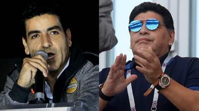 Presidente de Dorados explicó por qué contrató como técnico a Diego Armando Maradona