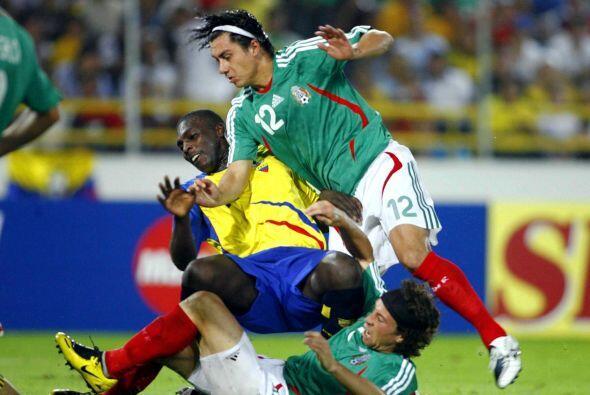 Ante la selección de Ecuador, México se ha jugado en cuatro ocasiones, c...