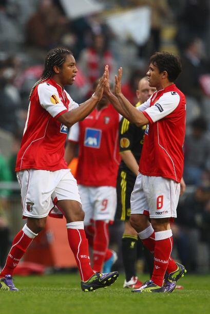 Ese gol, al minuto 18, bastó para que el Braga se quedara con el triunfo.