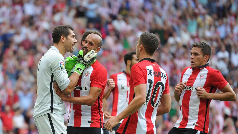Athletic Bilbao le pegó al Betis