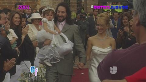 RetroJueves, recordando la romántica boda del Buki y Marc Anthony