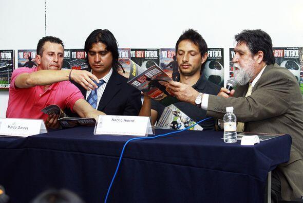 """La presencia de Félix era para presentar la revista """"Yo soy fútbol""""."""