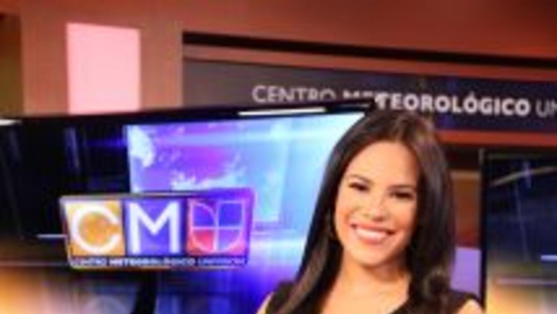 Ericka Pino, meteórologa de Noticias Univision Chicago