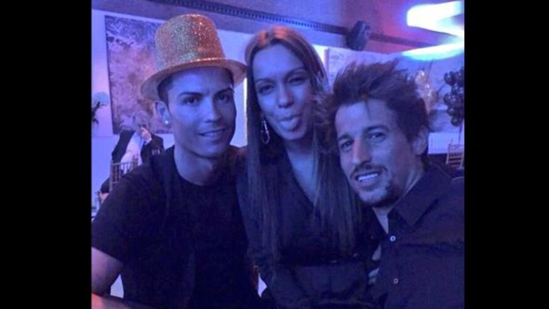Esta es una de las imágenes que circularon de la fiesta del portugués lu...