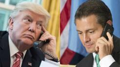 Donald Trump y Enrique Peña Nieto, dos presidentes muy impopulares.