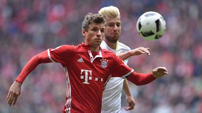 Bayern no pasa de un empate en casa ante el Mainz