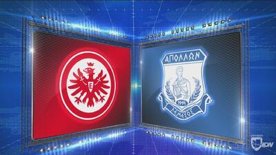 Frankfurt 2-0 Apollon - GOLES Y RESUMEN - Grupo H UEFA Europa League