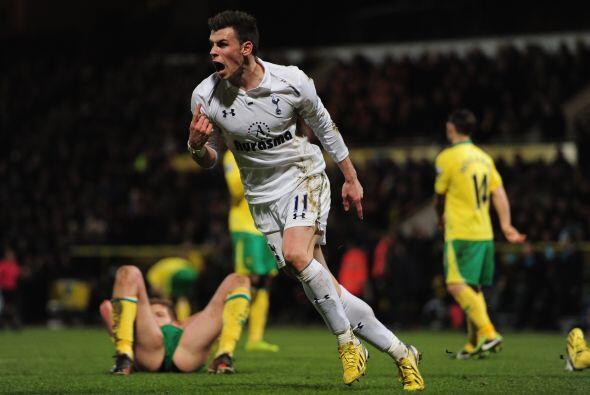 Tottenham pasó algunos apuros para empatar 1-1 en casa del Norwich City...