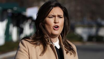 Sarah Sanders afirma que cerca de 4,000 sospechosos de terrorismo ingresaron ilegalmente al país por la frontera sur