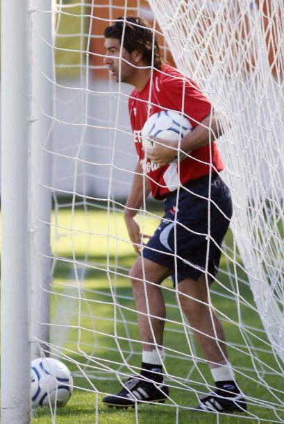 También los gritó en la selección chilena, pero en...