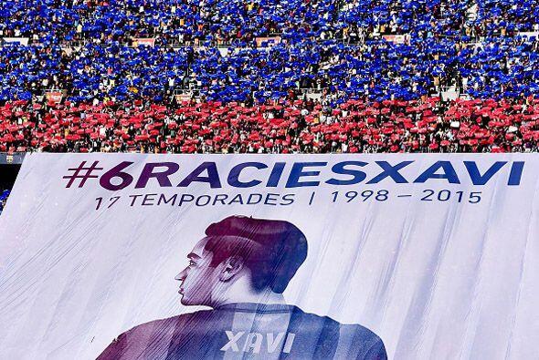 Xavi, el jugador que más partidos oficiales ha disputado con el Barcelon...