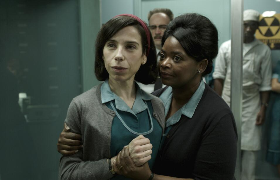 This image released by Fox Searchlight Pictures shows Sally Hawkins, lef...
