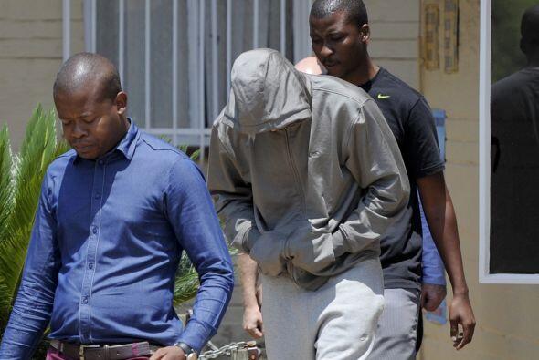 La portavoz de la Policía, Katlego Mogale, confirmó la acu...