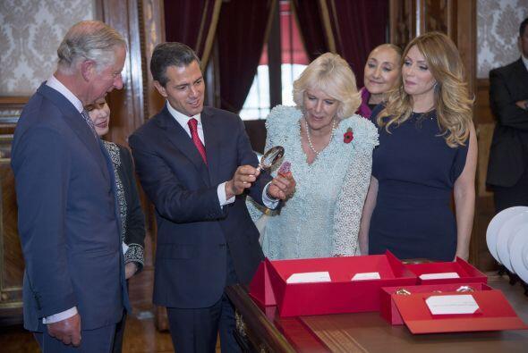 Peña Nieto se encargó de mostrarles algunas de las maravillas que alberg...