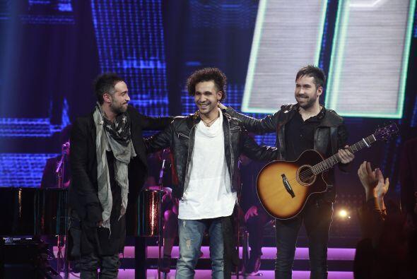 """Mario y Pablo quedaron satisfechos con la colaboración de """"Tiko""""."""