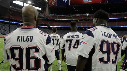 Todo listo para el Super Bowl 51.