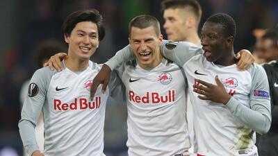 En fotos: Salzburgo pasó a semifinal en Europa League en cinco minutos contra Lazio