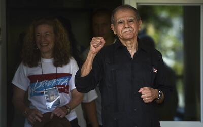 Oscar López aparece por primera vez en público este 17 de...