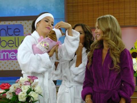 Este martes en 'Ponte bella con Ximena', Honey se unió a las chic...