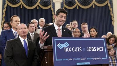 Paul Ryan lidera la bancada republlicana de la Cámara y está muy involuc...