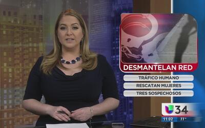 Desmantelan red de tráfico humano en DeKalb