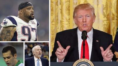 A un mes del inicio del mandato, el mundo del deporte le ha dado la espalda a Donald Trump