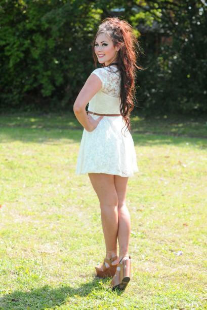Quedó en los cinco primeros lugares de Miss Teen Bretaña