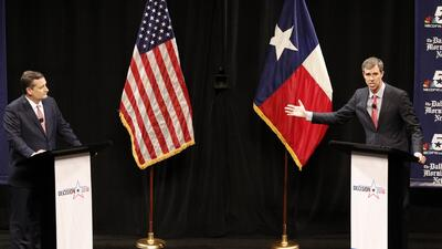 Republicanos y demócratas en Houston siguieron en detalle el esperado debate entre los candidatos al Senado por Texas